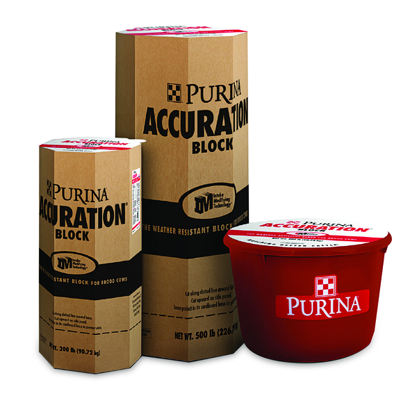 Purina Accuration 200lb Block