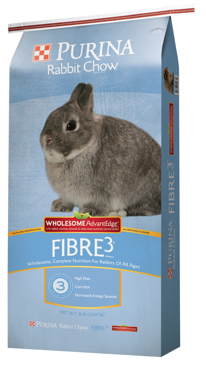 Purina Rabbit Chow Fiber3
