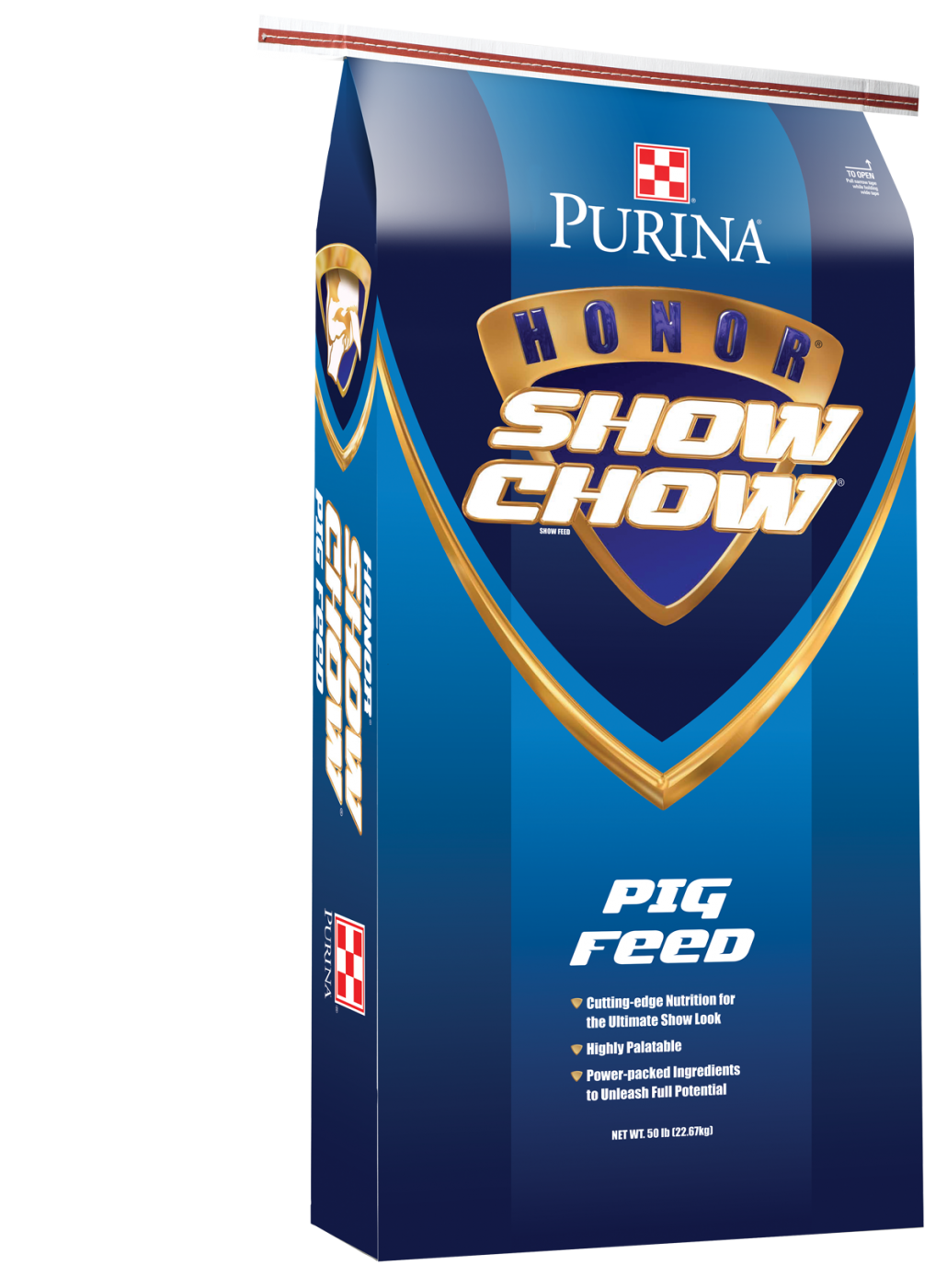 Purina® Honor® Show Chow® FINALE® 809