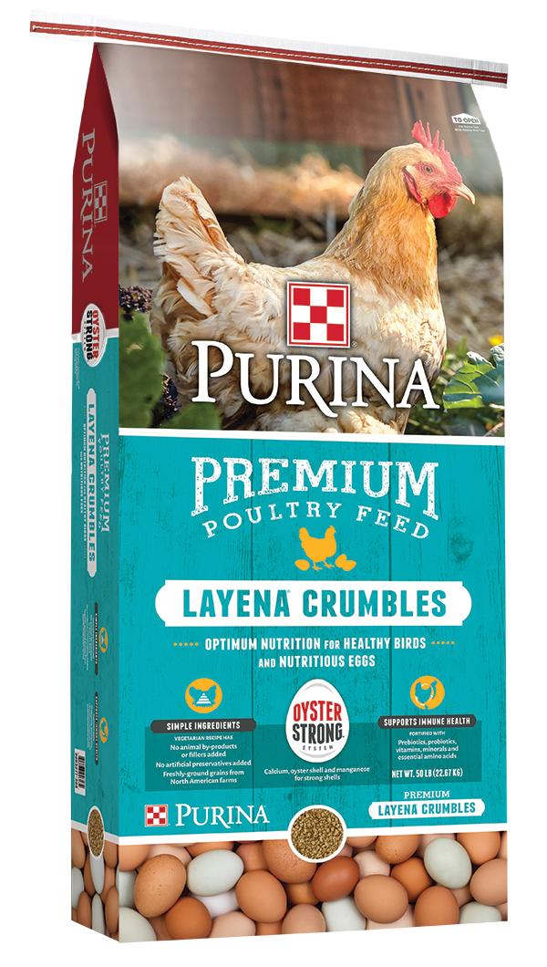 Purina Layena Crumbles
