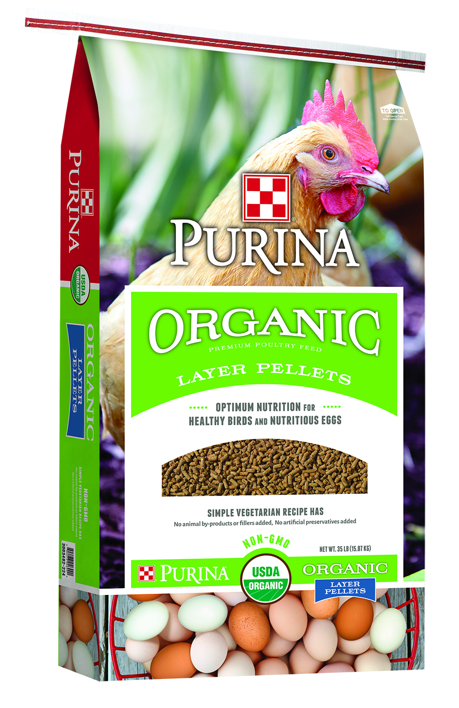 Purina Organic Layer Pellets Bag
