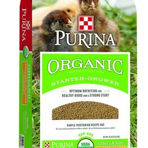 Purina Organic Starter Grower Bag