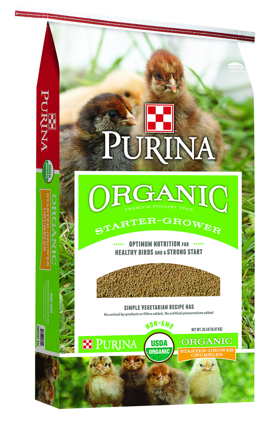 Purina Organic Starter Grower Bag