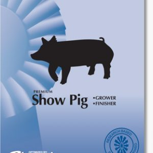 sunglo show pig finisher