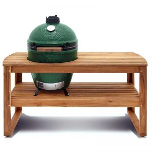 Big Green Egg Hardwood Table