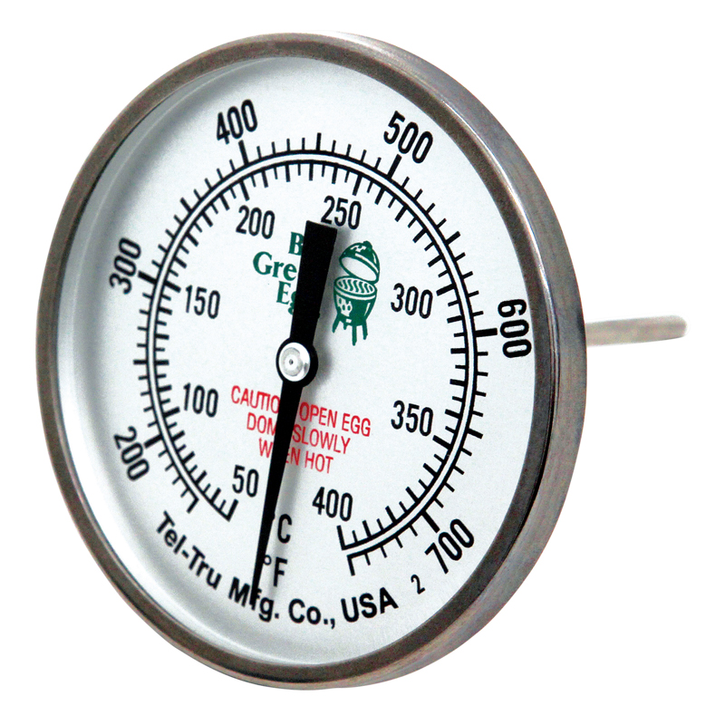 Big Green Egg Temperature Gauge 3in