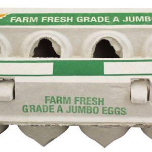 jumbo egg carton