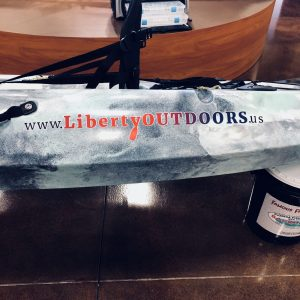 Bravery Fishing Kayak from Liberty Outdoors