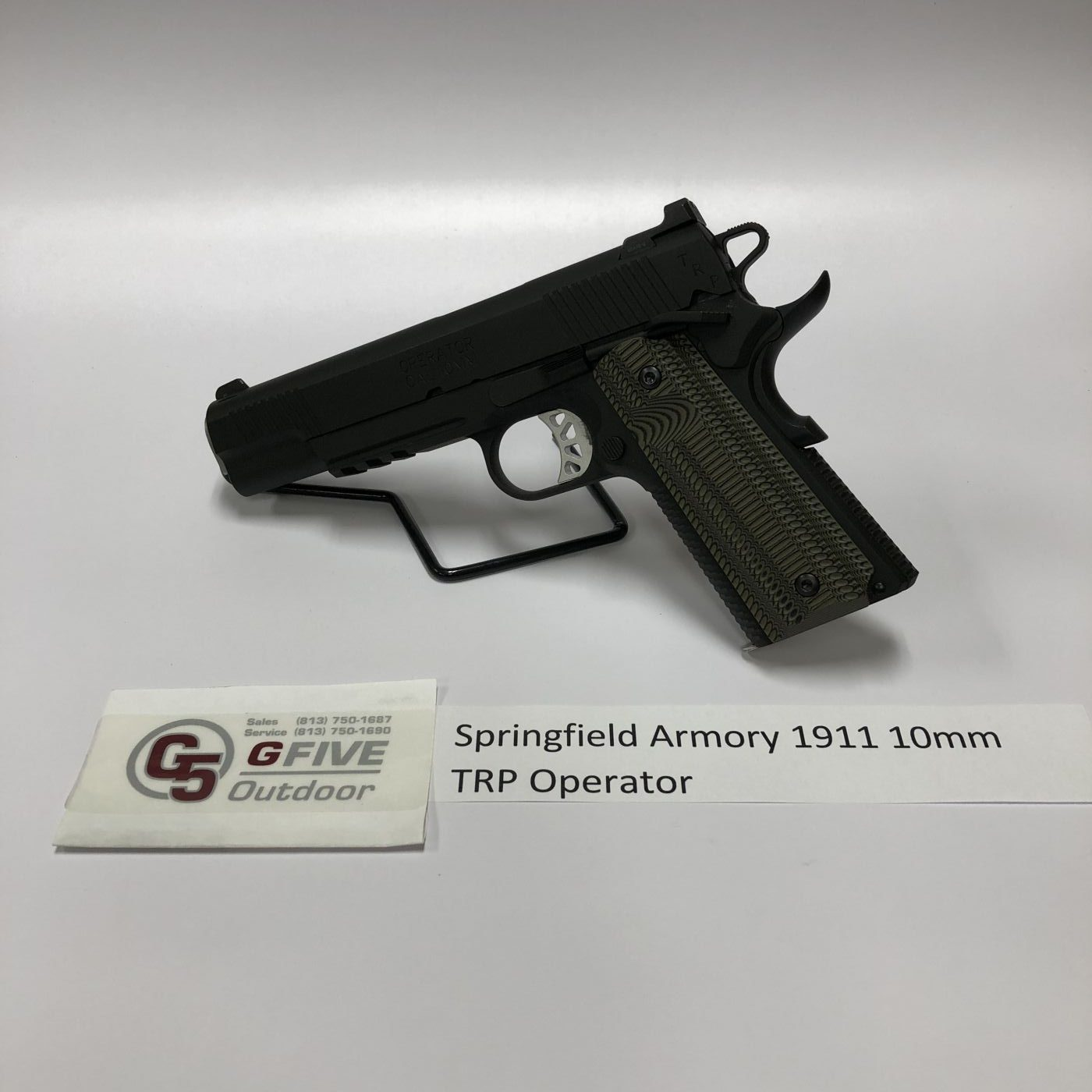Springfield Armory 1911 10mm TRP Operator - G5 Feed & Outdoor : G5